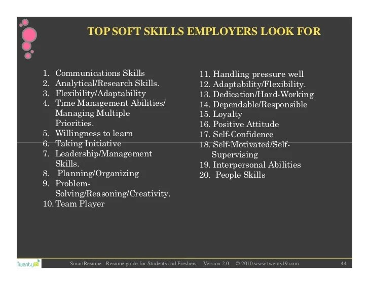 How To Mention Teamwork And Skills In A Resume Smartest Resume Guide For Students And Freshers