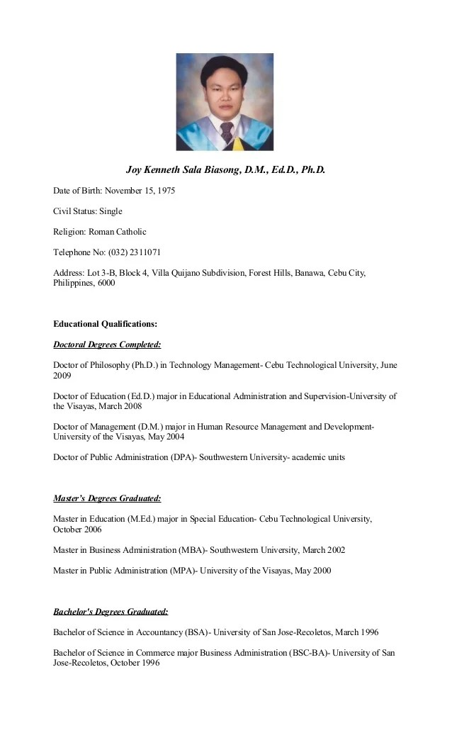 Resume For Graduate School Application Sample Graduate Admissions Resume For A Student Resume Curriculum Vitae Curriculum Vitae Example Thesis