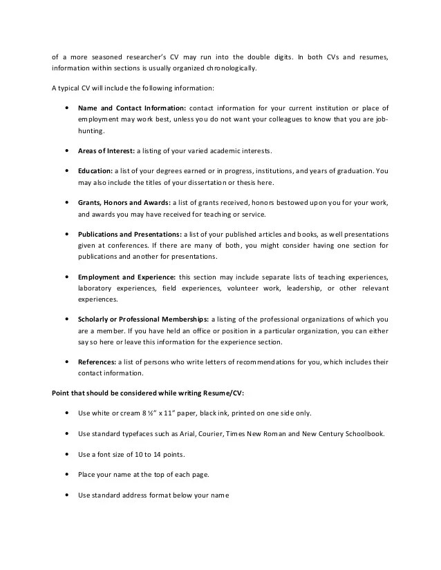 listing job experience on resumes - Intoanysearch