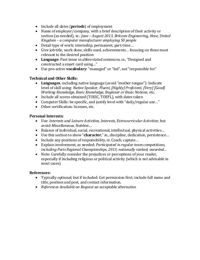 Delighted Resume Language Skills Native Gallery - Example Resume and ...