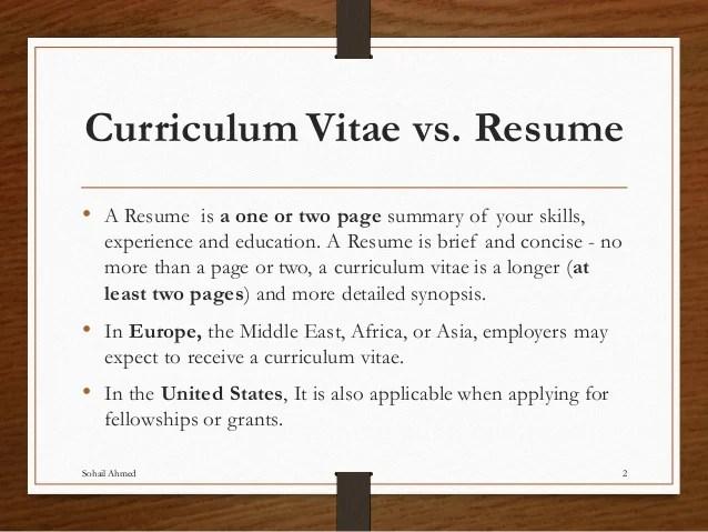 Cv And Resume Same Thing Cv Examples Law   Cv Vs Resume Europe