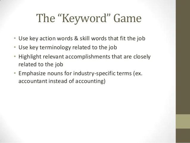 skill words for resume - Onwebioinnovate - resume skill words