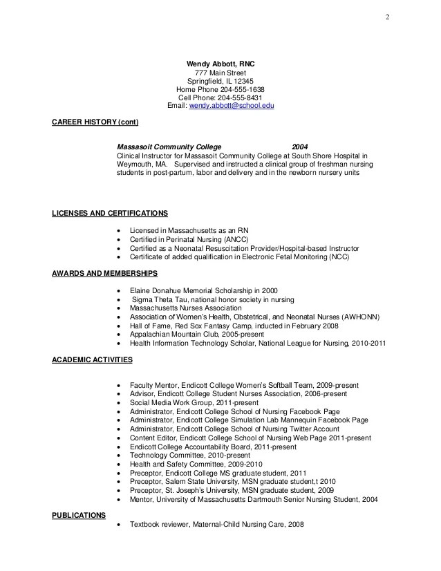 nursing student resume clinical experience - Onwebioinnovate - resume for nursing student