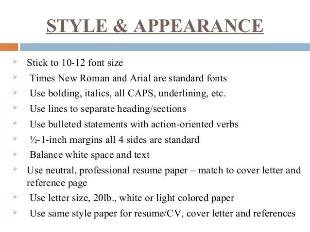 resume letter size - Minimfagency