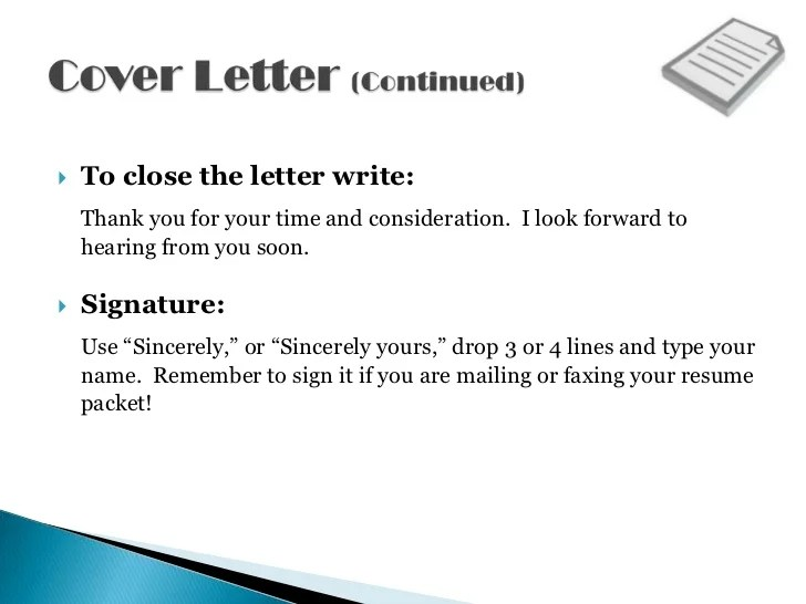 cover letter thank you for your consideration - Demireagdiffusion