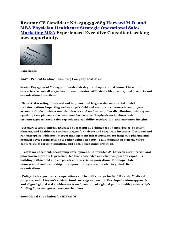 Healthcare implementation consultant resume