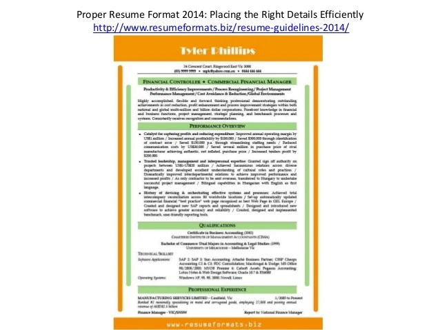 proper resume layout - Josemulinohouse - how to layout a resume