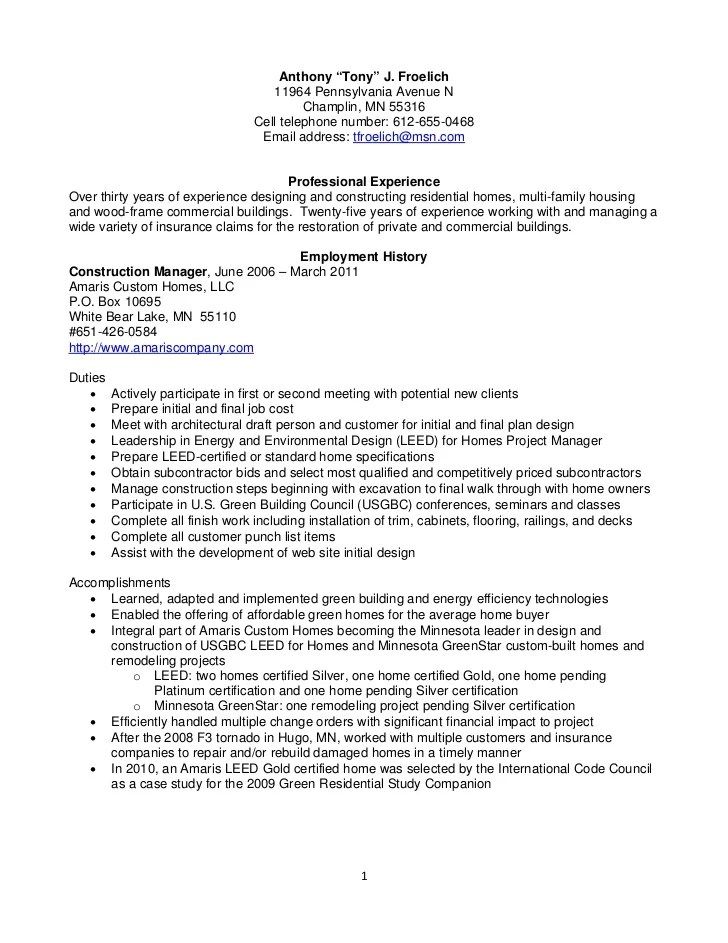 construction office manager resumes - Eczasolinf