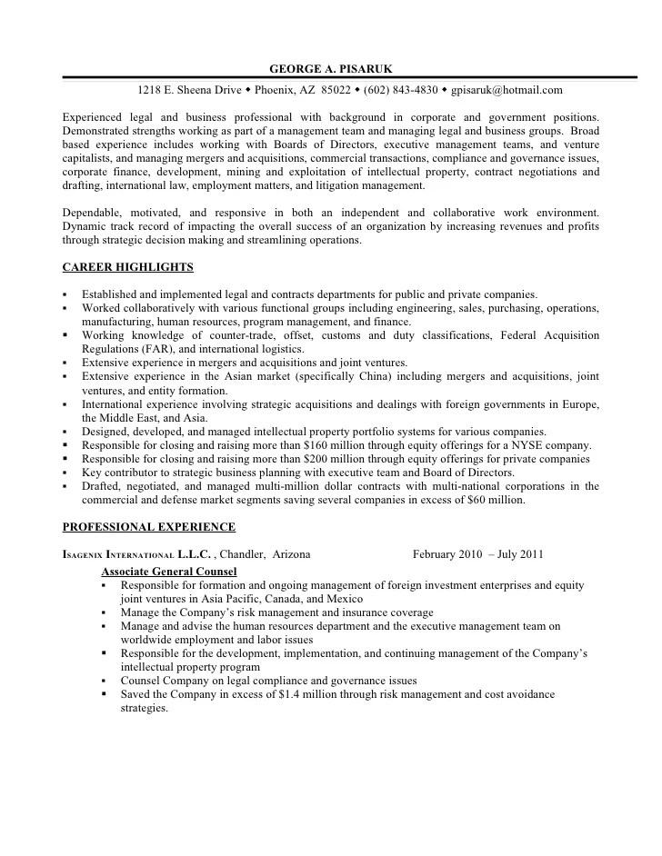 Law Student Resume Sample Attorney Resume Lawyer Resume Resume And Additional Experience As Business And Legal
