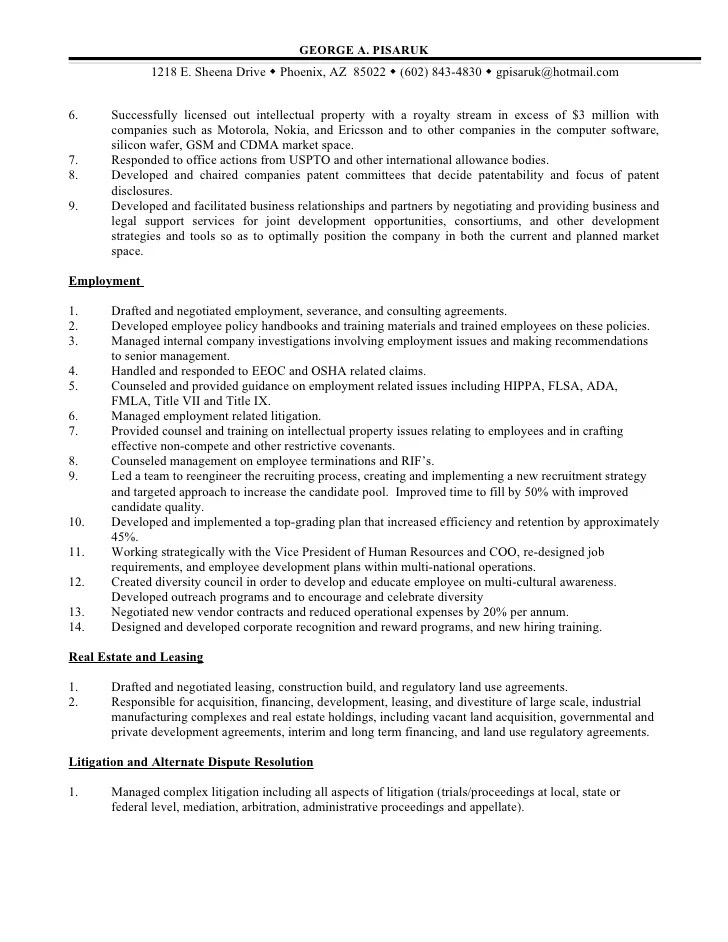 Compliance Attorney Sample Resume Compliance Officer Resume Example