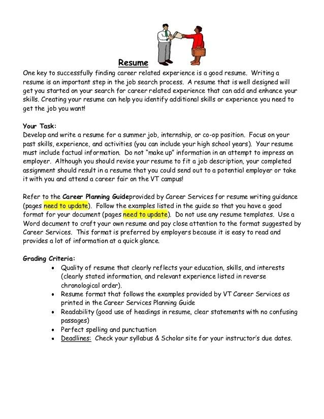 resume instructions - Doritmercatodos - step by step resume