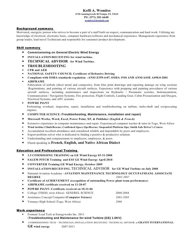 Sheet Metal Worker Sample Resume] Unforgettable Journeymen Hvac ...