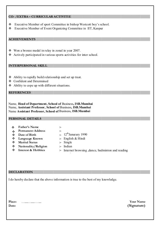 Resume Word In Tamil Store Keeper Resume Latest Resume Sample Mba Resume Sample Format
