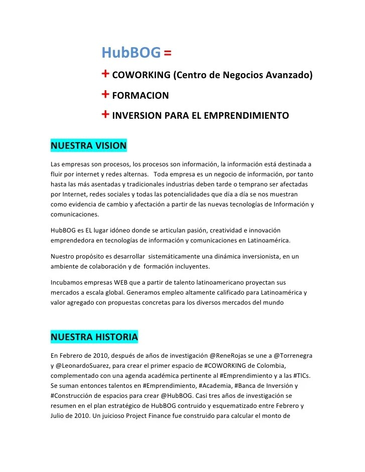 resumen ejecutivo ejemplo pdf free