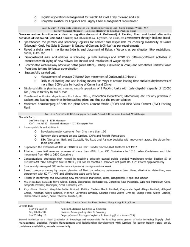 logistics management resumes - Minimfagency - logistics resume