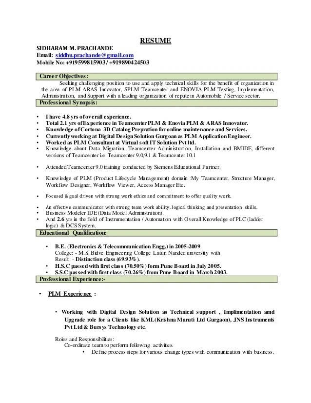 strong work experience - Intoanysearch - strong resume