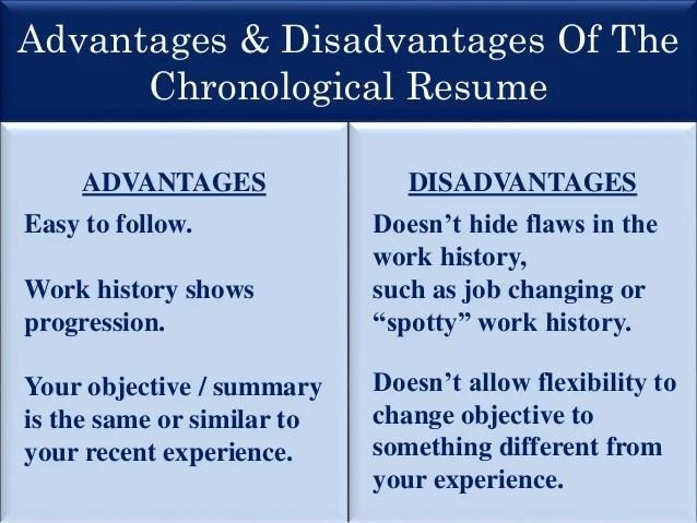 spotty job history resume