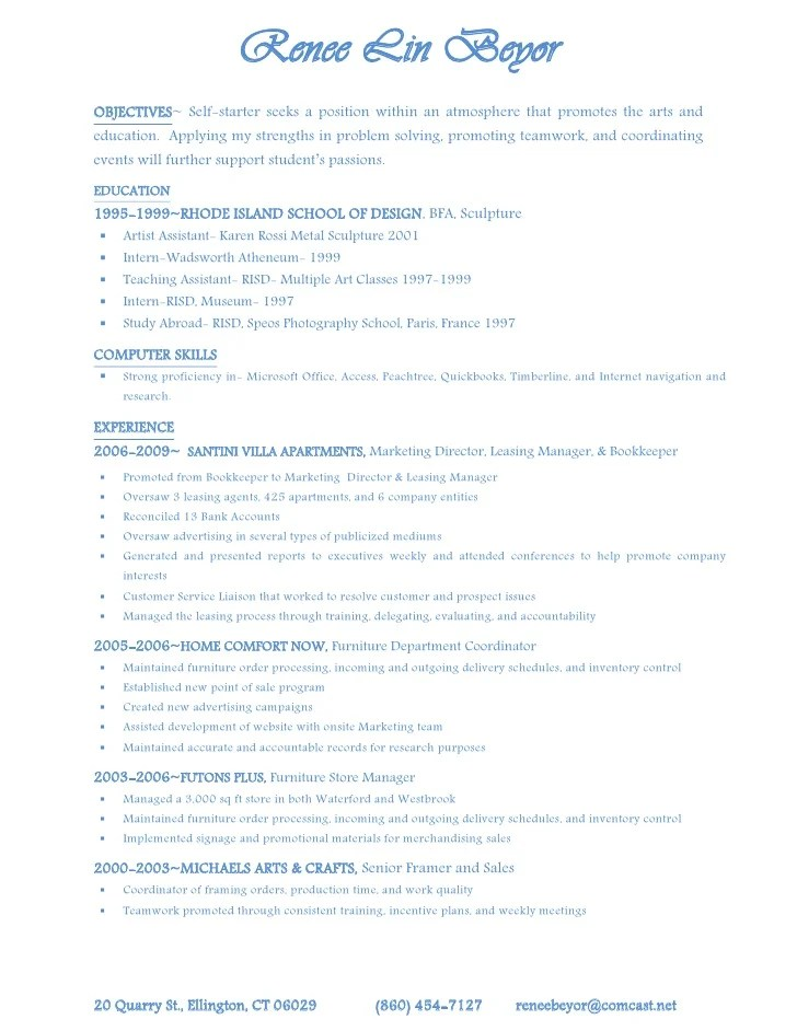leasing director resume example good resume template - Leasing Manager Resume