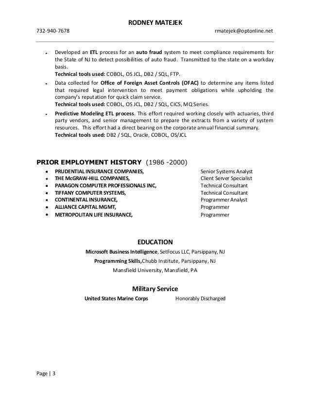 resume sql - Apmayssconstruction