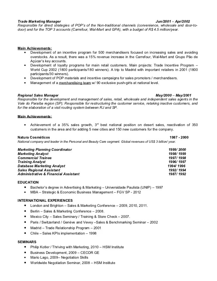 resume key achievements retail sales assistant