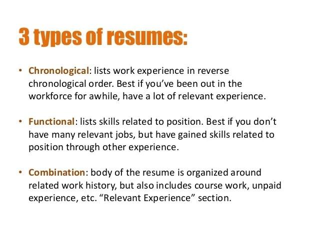 resume chronological order - Minimfagency