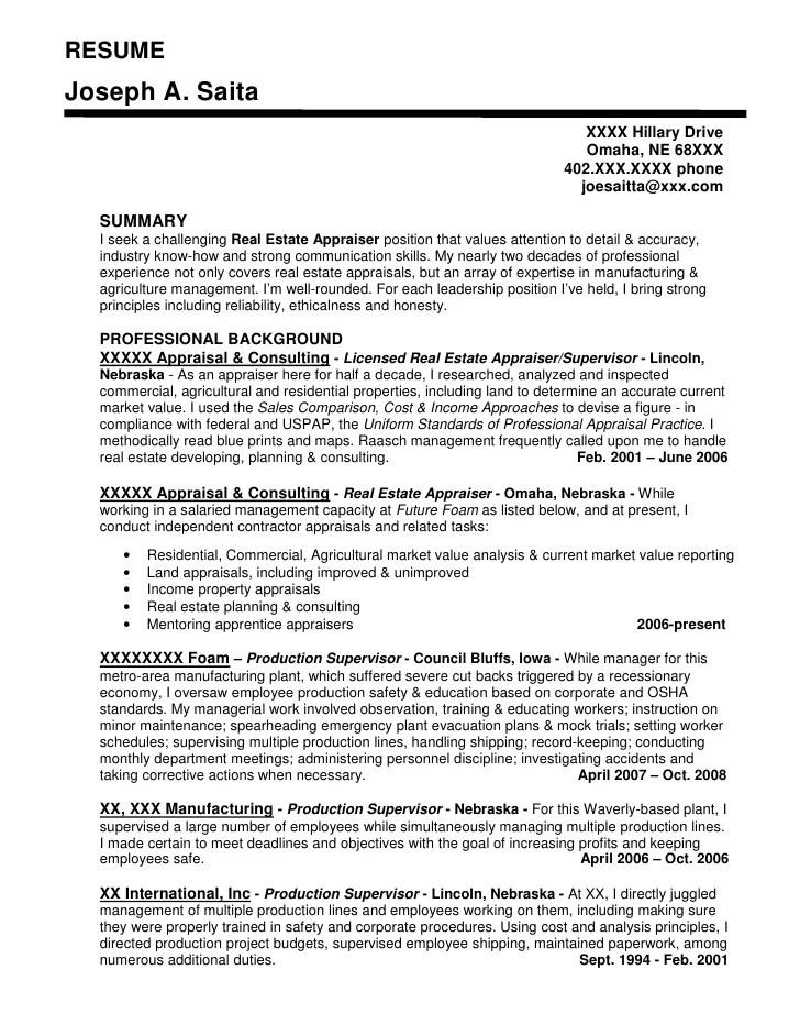 sample resume wording