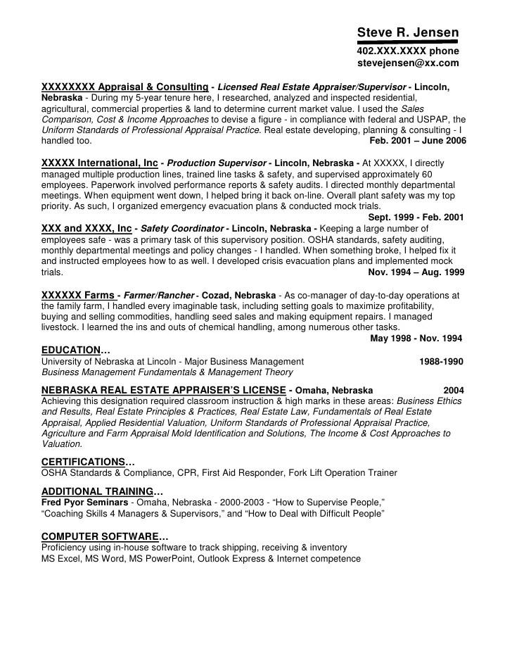 real resume samples - Jolivibramusic