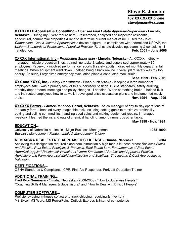 Real Resume Examples Hotelsandlodgings