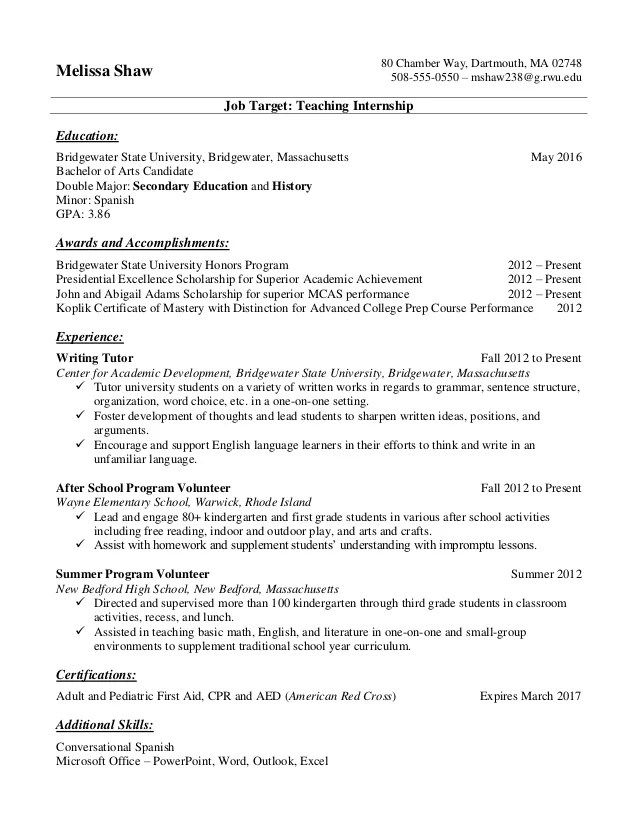 Resume For Student Intern Mechanical Engineering Student Resume Sample Resume Samples For College Students And Recent Grads