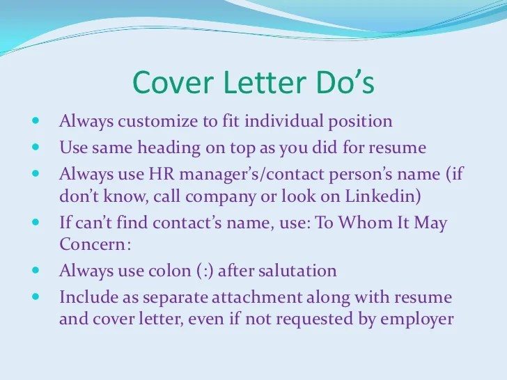 cover letter if you know the person - Tutlinayodhya