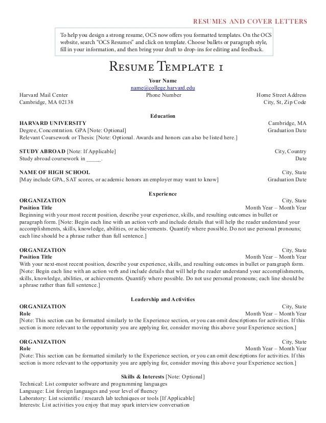 Write my resume relevant coursework example