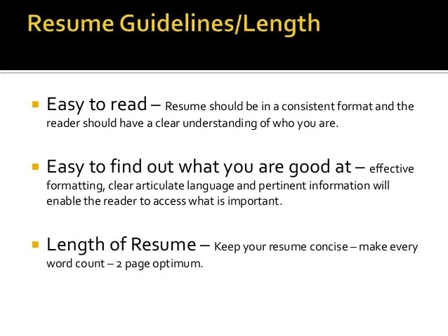Resume Writing 101 University Of Tennessee At Chattanooga Resumes And C Vs