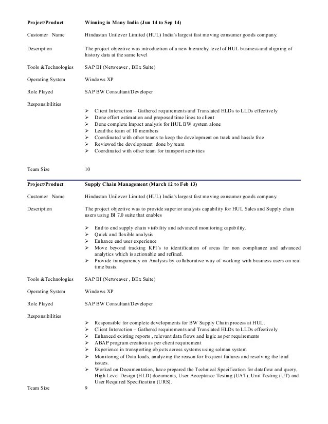 sap junior consultant resume sample case study for marketing - Junior Consultant Resume