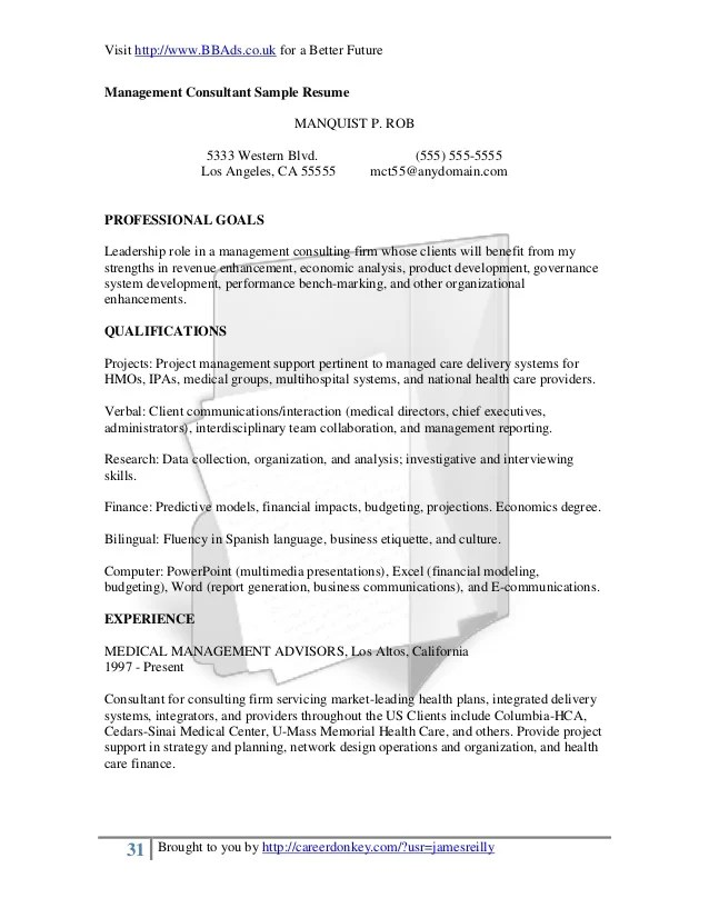 Best Sample Letter A Professional Approach To Resumes And Cover Letters