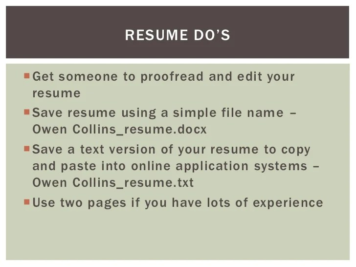 resumes that get results best resume cv and cover letter samples