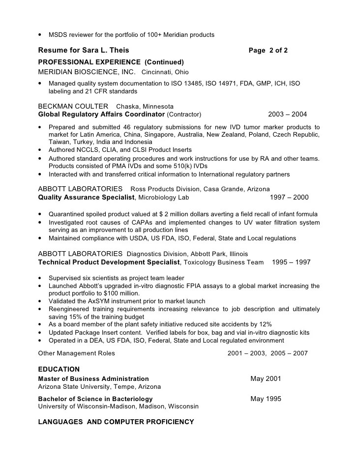 Regulatory Officer Sample Resume Professional Regulatory Affairs - regulatory officer sample resume