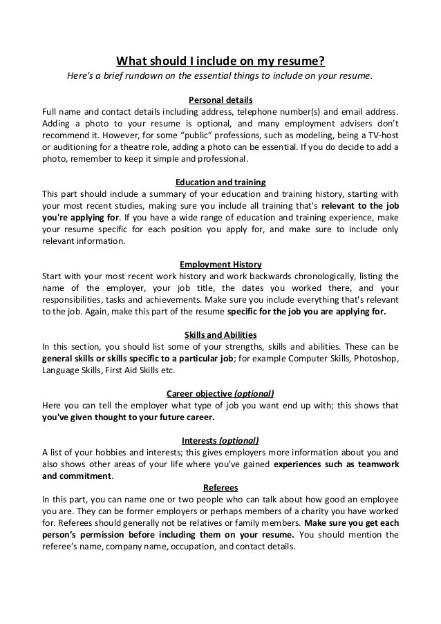 resume should you include address