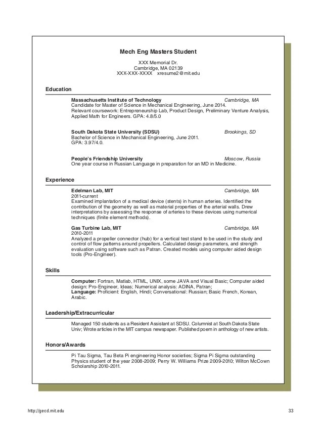 resume language tips - Intoanysearch