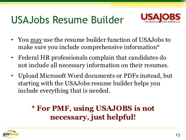 Crash Course In Federal Usajobs Resume Writing Udemy Using Usajobs Resume Builder