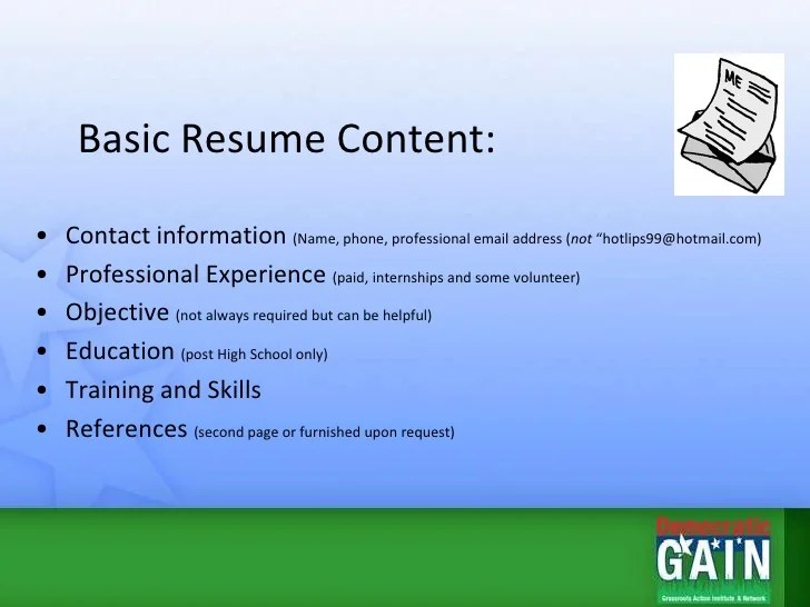 resume references yes or no