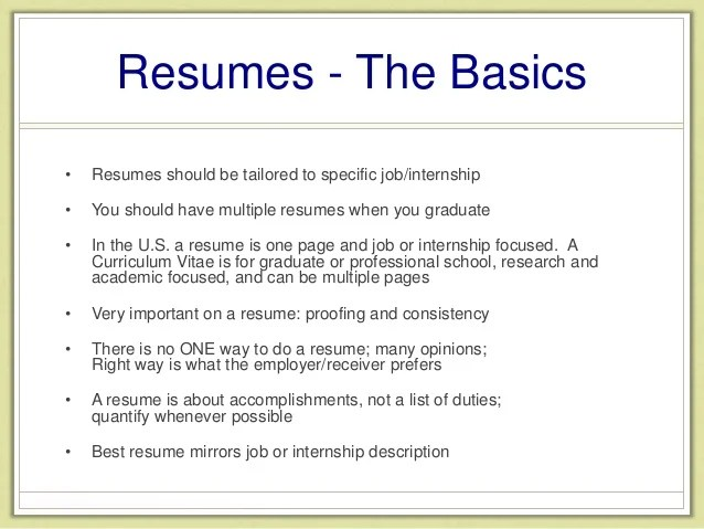 How Many Pages Should Your First Resume Be Lindsay Olson 5 Things You