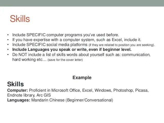 list of excel skills for resume sample customer service resume - Excel Skills Resume Examples