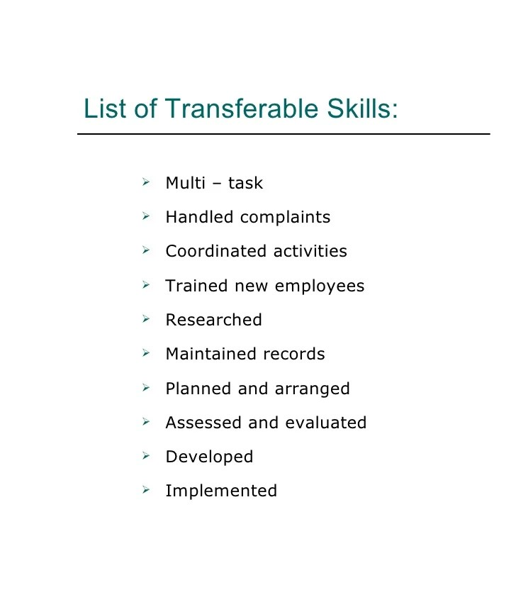 important skills to list on resume - Jolivibramusic
