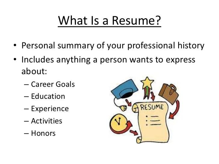 length of resume summary