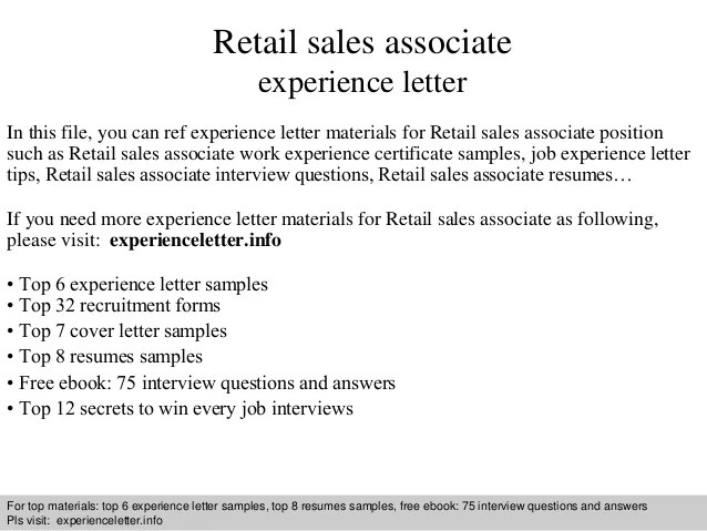 Retail Covering Letter. Sample Cover Letter For Retail Sale. Cool