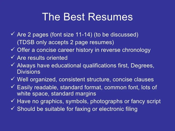 font size resumes - Intoanysearch - best fonts for a resume