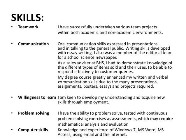 Job Resume Key Skills Key Skills In Resumes Skill Based Resume Skills Summary Revising My Curriculum Vitae