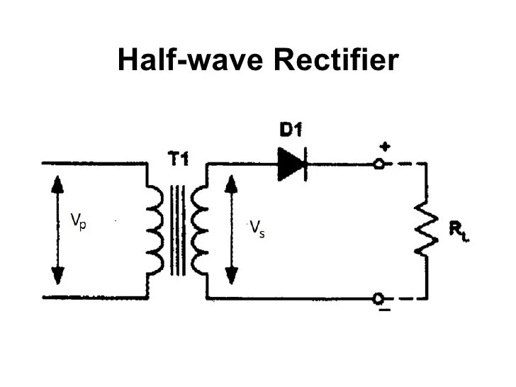 half wave and full wave rectifier circuit