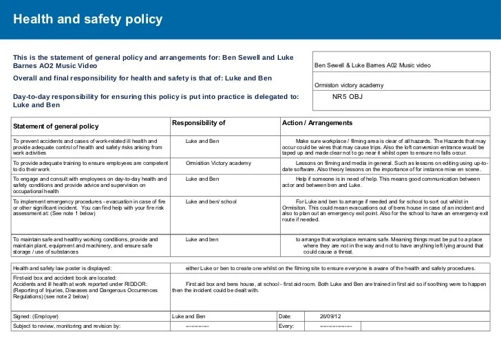 Doc.#580630: Health Risk Assessment Template – Sample Health Risk ...