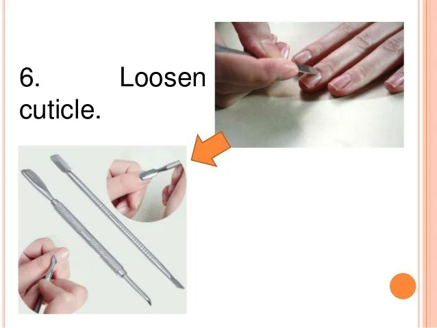 Preparation Of The Manicure Table And Preparation Of Plain